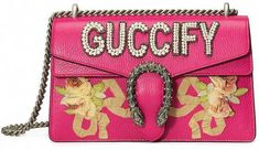 f4b10f7324 Shop for Pink Guccify Dionysus Small shoulder bag from Luxury Designer Gucci  at The Webster. Discover the latest product from luxury designer brands.