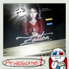 #movie for the #day !!! #classic #vintage #local #based on #true #story of the #life of an #atist #singer #legend #zaiton #sameon !!! #truely #inspiring !!! #full of #emotions T_T