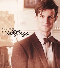 Adventure of Space and Time hits all the feels-All my love to long ago :gif: #DoctorWho #EleventhDoctor