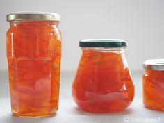 Confiture d oranges amères facile