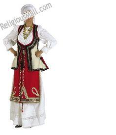 Female S,M,L Folk Dance Greek Church Festival Costumes - Levadia woman Byzantine Art, Byzantine Icons, Dance Costumes, Greek Costumes, Festival Costumes, Folk Dance, Religious Icons, Folk Costume, Art Store