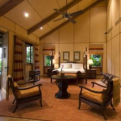 House of Bamboo. bamboo ply panels for ceilings/walls