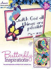Needlework Plastic Canvas - Butterfly Inspirations - #888107