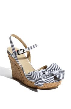 BP Bowtye Wedge Sandal - Nordstrom