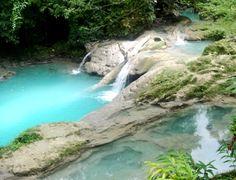 secret falls blue hole jamaica - Google Search
