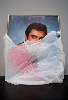 Seapunk | Still Life | Plastic Bag | Elvis Presley | Minimal Photography