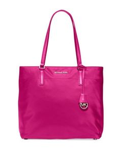 Michael Michael Kors Morgan Large Nylon Shopper Tote