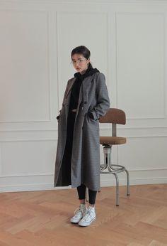 Korean Girl Fashion, Ulzzang Fashion, Korean Street Fashion, Winter Fashion Outfits, Look Fashion, Fall Outfits, Cute Casual Outfits, Pretty Outfits, Stylish Outfits