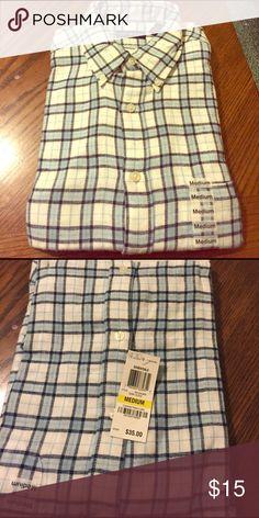 Jonh Ashford button down shirt size M Jonh Ashford Button down shirt size Medium. Brand New with tags Jonh Ashford Shirts Casual Button Down Shirts