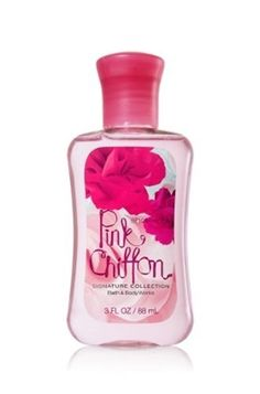 Bath & Body Works Pink Chiffon Travel Size Shower Gel 3oz / 88mL by Bath & Body Works. $7.95. Bath & Body Works Pink Chiffon Travel Size Shower Gel 3oz / 88mL