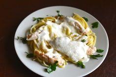 Olive Garden Grilled Chicken and Alfredo Sauce
