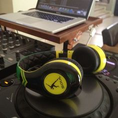 He even has his own brand of Headphones out now!  He tweeted this image himself..