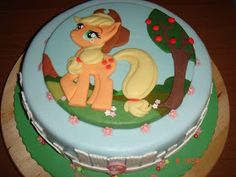 My Little Pony Applejack Birthday Cake Google Search Party Time