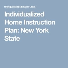 Nys Homeschooling Letter Of Intent