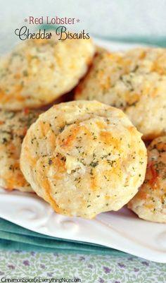 Homemade Red Lobster Biscuits - no Bisquick! Easy, drop biscuits.