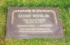 Sammy Davis, Jr. (Singer, Dancer, Actor)
