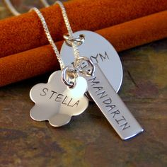 Hand Stamped - Sterling Silver by IntentionallyMe on Etsy