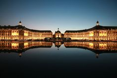 Water mirror - Bordeaux, France