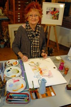 Breaking the Rules of Watercolour - with Shirley Trevena