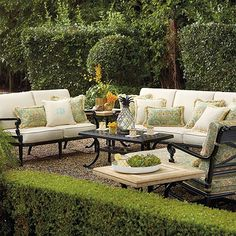 Outdoor Furniture Sets by Frontgate Patio Furniture Collections