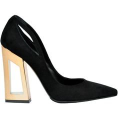 Black pointy pumps Marc Ellis