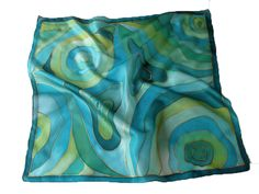 Painted Silk, Hand Painted, Silk Art, Silk Painting, Silk Scarves, Alcohol, Ink, Silk, Abstract