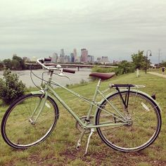 """I just bought this bike from @calhouncycle. Test rode the Mixte and loved it!"" -Minneapolis customer   Good stuff."