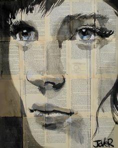 "Saatchi Online Artist Loui Jover; Drawing, ""vibrations"" #art"