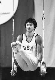 Olympics Team gold, vault Silver, 2 Bronze for parallel bars and rings; returned in 2009 as JLTV anchor Gymnastics History, Sport Gymnastics, Artistic Gymnastics, Olympic Gymnastics, Olympic Games, Gymnastics Stuff, 1984 Olympics, Summer Olympics, Male Gymnast