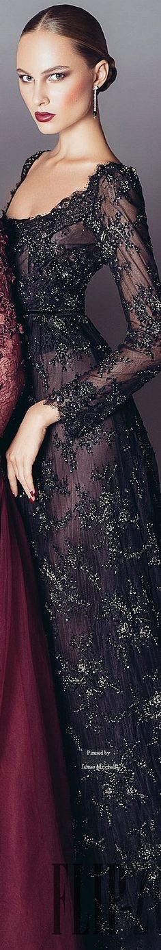 Fashion ~ Couture ✦ Alfazairy Couture Fall-winter 2015-2016