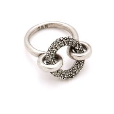 Giles & Brother Archer Ring with Pave
