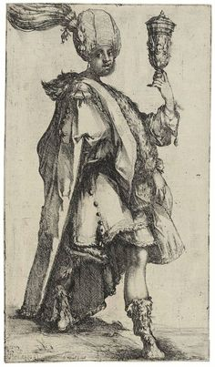 The Three Magi. Balthasar, King of Sheba (c.1610)