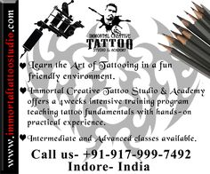 The Tattoo Learning Academy teaches people how to tattoo safely and responsibly in a fun, friendly environment.