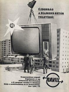 Videoton Diamond Sztár televízió, c1975.