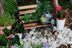 Make a Fairy Garden Water Fountain That Really Works