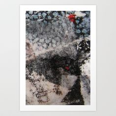 Abstract Collage Art Print by Cassie Peters - $14.00