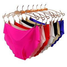 a117d0c440d4 US $1.16 44% OFF|Solid Seamless Panties Low Rise Panties Female Sexy Briefs  Panties Women Plus Size Underwear lingerie Culotte Ultra thin New Hot-in  women's ...