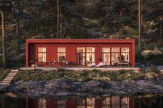 Grey Window Frames, Grey Windows, Welsh Cottage, Permanent Vacation, Bothy, Prefab, Home Fashion, Deco, Interior Architecture