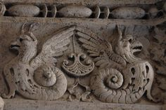 Reliefs of the Doge's Palace in Venice