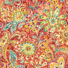 Sanitas Paisley & Petals Wallpaper