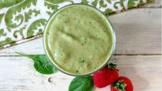 "Healthy Shamrock Smoothie - ""If you live for the three weeks a year when McDonald's sells shamrock shakes, you need this smoothie in your life."""