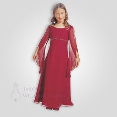 Medieval Flowergirl Dress