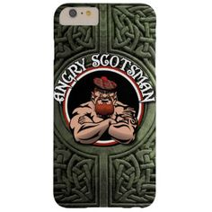 Angry Scotsman 2015 Barely There iPhone 6 Plus Case