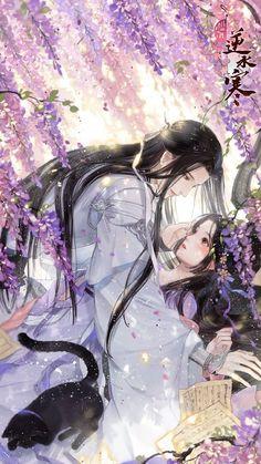 Anime Couples Drawings, Anime Couples Manga, Cute Anime Couples, Anime Guys, Anime Angel Girl, Anime Art Girl, Art Anime Fille, Art Chinois, Japanese Drawings