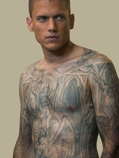 tatouage prison break wentworth miller