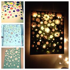 Made a night light canvas today! :)