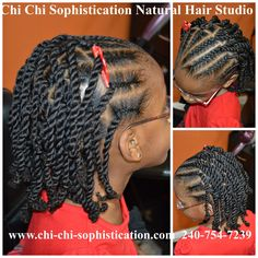 #Cornrows & Twist for #Children #NaturalHair #ProtectiveStyle #KidsHair