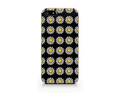 Daisy flower phone case, Floral pattern for iPhone 4/5/5C/6 case, Samsung galaxy S4/S5/Note3 case