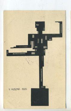 Vilmos Huszár (Hungary, 1884–1960) De Stijl Dada 1920
