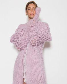 "L E T A N N E on Instagram: ""Monday coziness in Eva Mohair & Silk Find yours at www.letanne.com #letanneparis #wearletanne"""